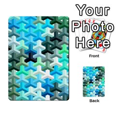 Mosaic & Co 02a Multi Purpose Cards (rectangle)  by MoreColorsinLife