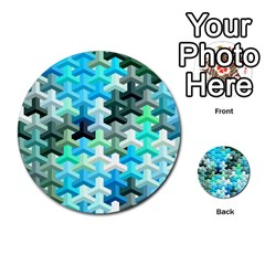 Mosaic & Co 02a Multi Purpose Cards (round)  by MoreColorsinLife