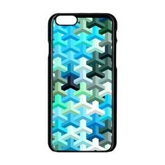 Mosaic & Co 02a Apple Iphone 6/6s Black Enamel Case by MoreColorsinLife