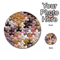 Mosaic & Co 02b Multi Purpose Cards (round)  by MoreColorsinLife