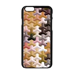 Mosaic & Co 02b Apple Iphone 6/6s Black Enamel Case by MoreColorsinLife
