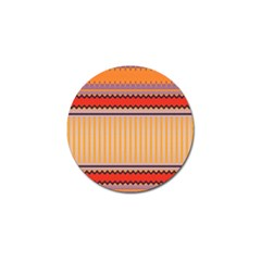 Stripes And Chevrons			golf Ball Marker (4 Pack) by LalyLauraFLM