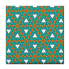 Triangles And Other Shapes Pattern			face Towel by LalyLauraFLM