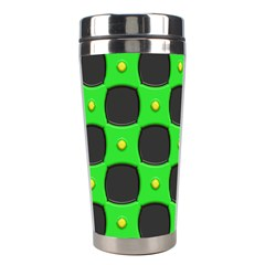 Black Holes Stainless Steel Travel Tumbler by LalyLauraFLM