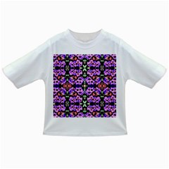 Purple Green Flowers With Green Infant/toddler T Shirts by Costasonlineshop