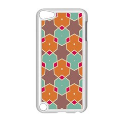 Stars And Honeycombs Pattern			apple Ipod Touch 5 Case (white) by LalyLauraFLM