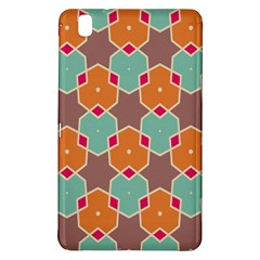 Stars And Honeycombs Pattern			samsung Galaxy Tab Pro 8 4 Hardshell Case by LalyLauraFLM
