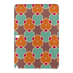 Stars And Honeycombs Pattern			samsung Galaxy Tab Pro 12 2 Hardshell Case by LalyLauraFLM