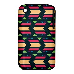 Triangles And Other Shapes			apple Iphone 3g/3gs Hardshell Case (pc+silicone) by LalyLauraFLM