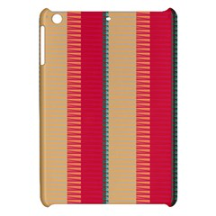 Stripes And Other Shapes			apple Ipad Mini Hardshell Case by LalyLauraFLM