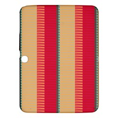 Stripes And Other Shapes			samsung Galaxy Tab 3 (10 1 ) P5200 Hardshell Case by LalyLauraFLM