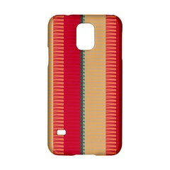 Stripes And Other Shapes			samsung Galaxy S5 Hardshell Case by LalyLauraFLM