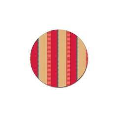 Stripes And Other Shapes			golf Ball Marker by LalyLauraFLM