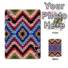 Colorful Diamond Crochet Playing Cards 54 Designs  by Costasonlineshop