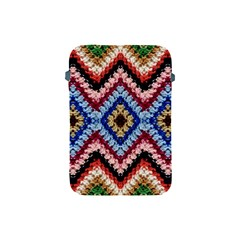 Colorful Diamond Crochet Apple Ipad Mini Protective Soft Cases by Costasonlineshop