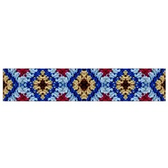 Colorful Diamond Crochet Flano Scarf (small)  by Costasonlineshop