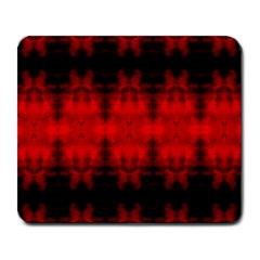 Red Black Gothic Pattern Large Mousepads by Costasonlineshop