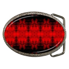 Red Black Gothic Pattern Belt Buckles by Costasonlineshop