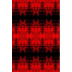 Red Black Gothic Pattern 5 5  X 8 5  Notebooks by Costasonlineshop