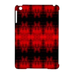Red Black Gothic Pattern Apple Ipad Mini Hardshell Case (compatible With Smart Cover) by Costasonlineshop