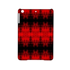 Red Black Gothic Pattern Ipad Mini 2 Hardshell Cases by Costasonlineshop