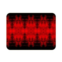 Red Black Gothic Pattern Double Sided Flano Blanket (mini)  by Costasonlineshop