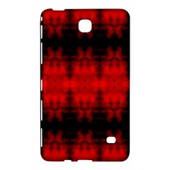 Red Black Gothic Pattern Samsung Galaxy Tab 4 (8 ) Hardshell Case  by Costasonlineshop