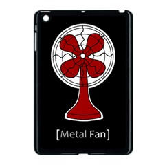 Metal Fan Apple Ipad Mini Case (black) by waywardmuse