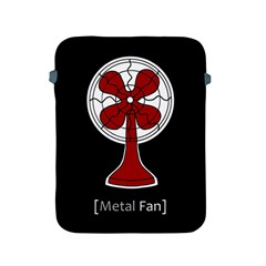 Metal Fan Apple Ipad 2/3/4 Protective Soft Cases by waywardmuse