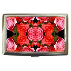 Beautiful Red Roses Cigarette Money Cases by Costasonlineshop