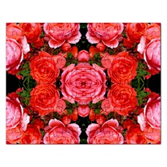 Beautiful Red Roses Rectangular Jigsaw Puzzl by Costasonlineshop