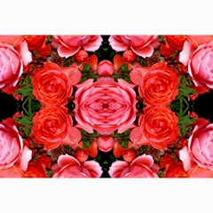 Beautiful Red Roses Collage 12  X 18  by Costasonlineshop