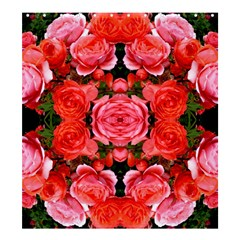 Beautiful Red Roses Shower Curtain 66  X 72  (large)  by Costasonlineshop