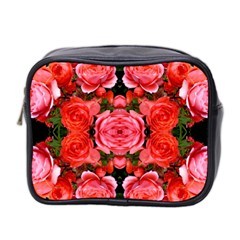 Beautiful Red Roses Mini Toiletries Bag 2 Side by Costasonlineshop
