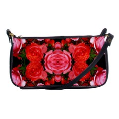 Beautiful Red Roses Shoulder Clutch Bags by Costasonlineshop