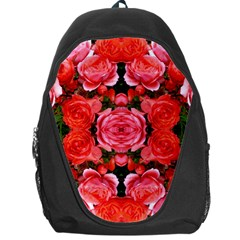 Beautiful Red Roses Backpack Bag by Costasonlineshop