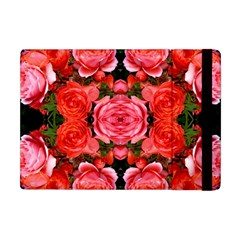Beautiful Red Roses Apple Ipad Mini Flip Case by Costasonlineshop