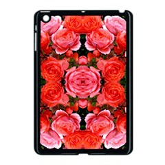 Beautiful Red Roses Apple Ipad Mini Case (black) by Costasonlineshop