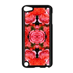 Beautiful Red Roses Apple Ipod Touch 5 Case (black) by Costasonlineshop