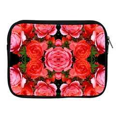Beautiful Red Roses Apple Ipad 2/3/4 Zipper Cases by Costasonlineshop