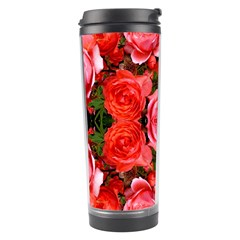 Beautiful Red Roses Travel Tumblers by Costasonlineshop