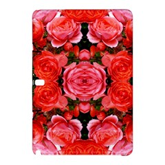 Beautiful Red Roses Samsung Galaxy Tab Pro 10 1 Hardshell Case by Costasonlineshop