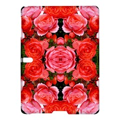 Beautiful Red Roses Samsung Galaxy Tab S (10 5 ) Hardshell Case  by Costasonlineshop