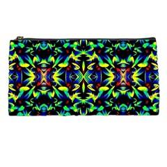 Cool Green Blue Yellow Design Pencil Cases by Costasonlineshop