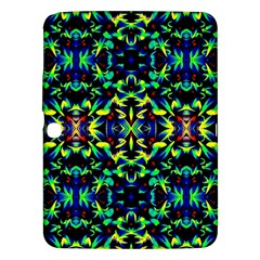 Cool Green Blue Yellow Design Samsung Galaxy Tab 3 (10 1 ) P5200 Hardshell Case  by Costasonlineshop