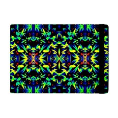 Cool Green Blue Yellow Design Ipad Mini 2 Flip Cases by Costasonlineshop