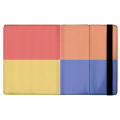 4 Squares			apple Ipad 3/4 Flip Case by LalyLauraFLM