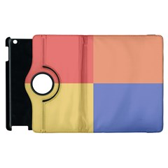 4 Squares			apple Ipad 2 Flip 360 Case by LalyLauraFLM