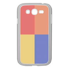 4 Squares			samsung Galaxy Grand Duos I9082 Case (white) by LalyLauraFLM