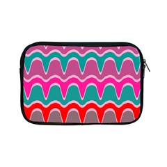 Waves Pattern			apple Ipad Mini Zipper Case by LalyLauraFLM